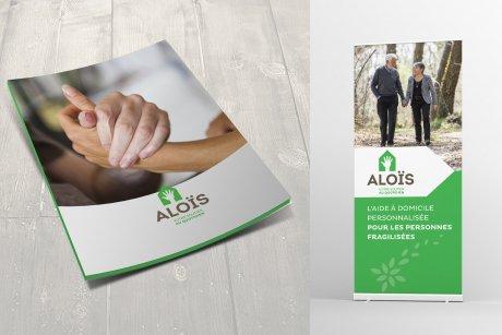 LEs valeurs d'Alois se retrouvent dans leurs outils de communication