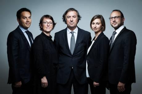 Portrait d'équipe