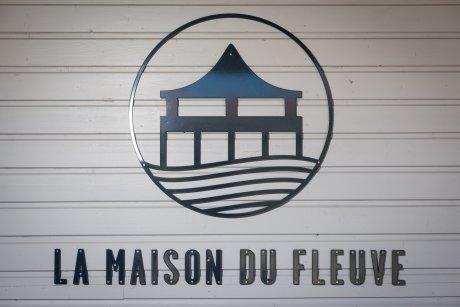 Le logo de La Maison du Fleuve