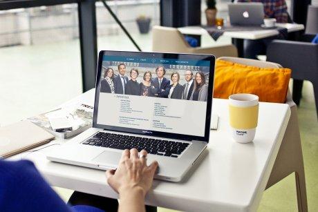 Le site web du cabinat d'avocats TGB
