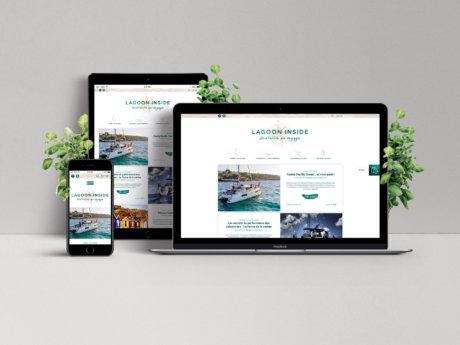 Le blog de la marque de catamarans de croisière, Laggon