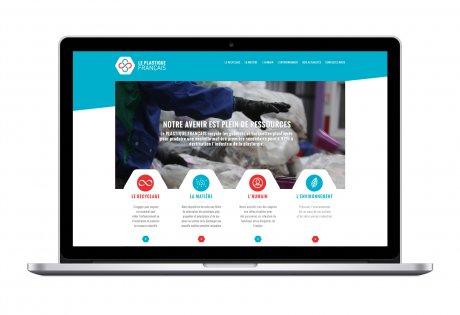 Un site web optimisé pour Le Plastique français
