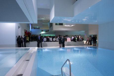Soirée de gala Seanergy dans la piscine Jean Nouvel au Havre